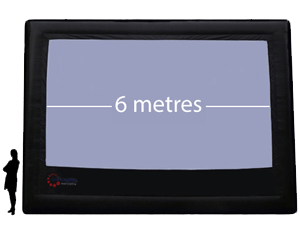 6m Precision ParkView Screen