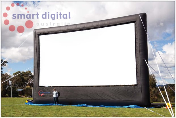 Commercial Outdoor Cinema Screen