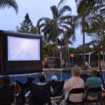 movie night at a Big4 holiday park